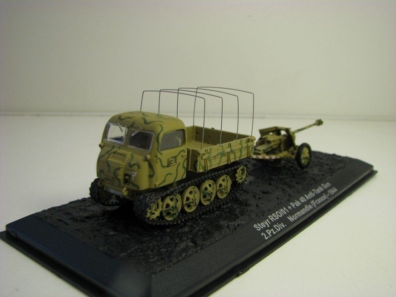 Steyr RSO/01 + pak 40 Normandie France 1944 1:72 Atlas Edition